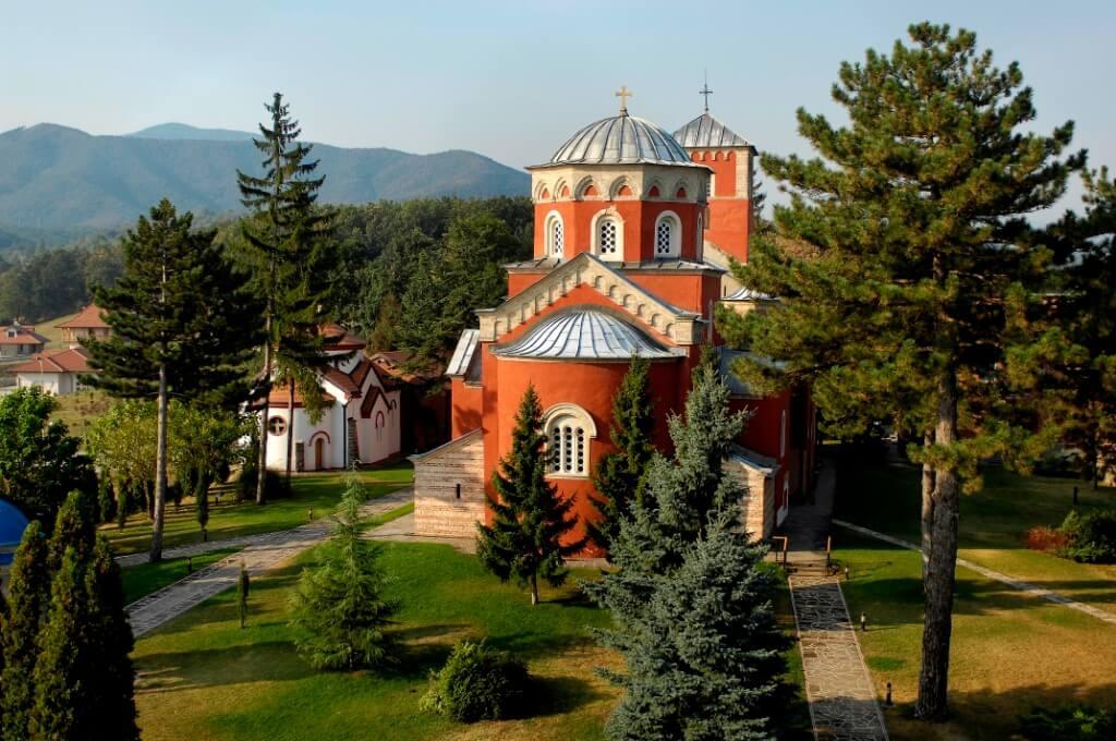 Crkva Svetog Spasa - Manastir Zica