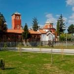 Pogled na Manastir Zica